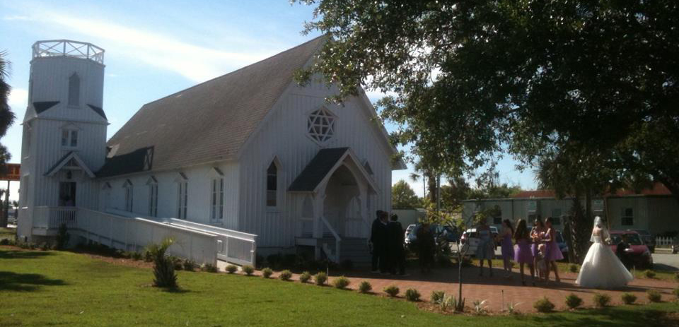 Beaches Museum Chapel Wedding