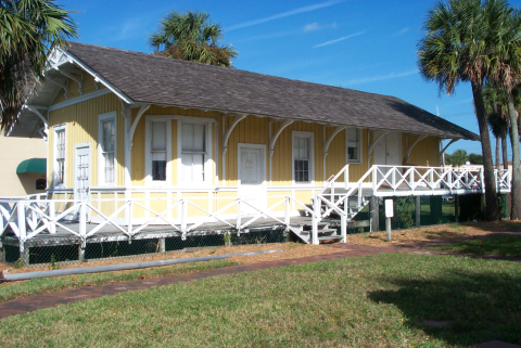 1900 Mayport Florida East Coast Railway Depot