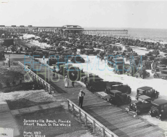 Jacksonville Beach Pier Boardwalk