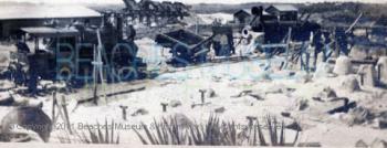 Historic Buckman & Pritchard Sand Plant at Mineral City, ca. 1922