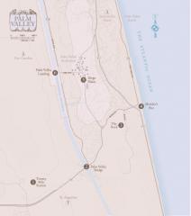 Palm Valley Exhibit Map