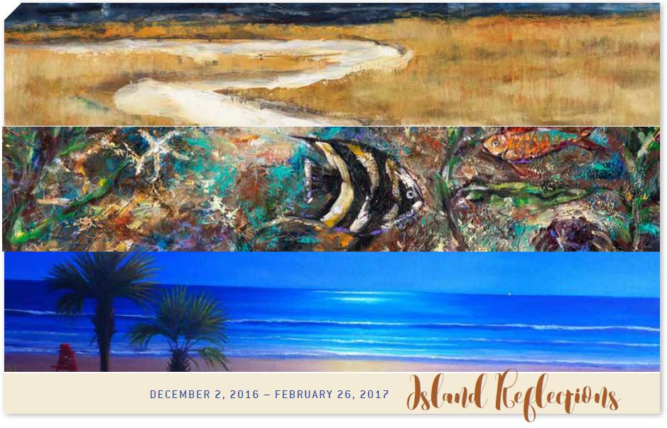 Gallery Tour and Artist Demonstration: Island Reflections