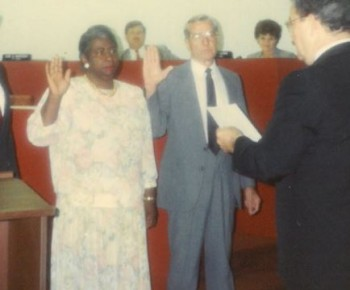 City Council Ceremony - 1991 snip
