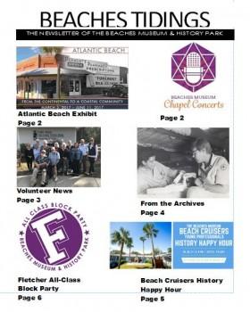 Snip of Newsletter Cover