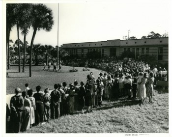 AB Students Celebrating May Day 5.9.1949