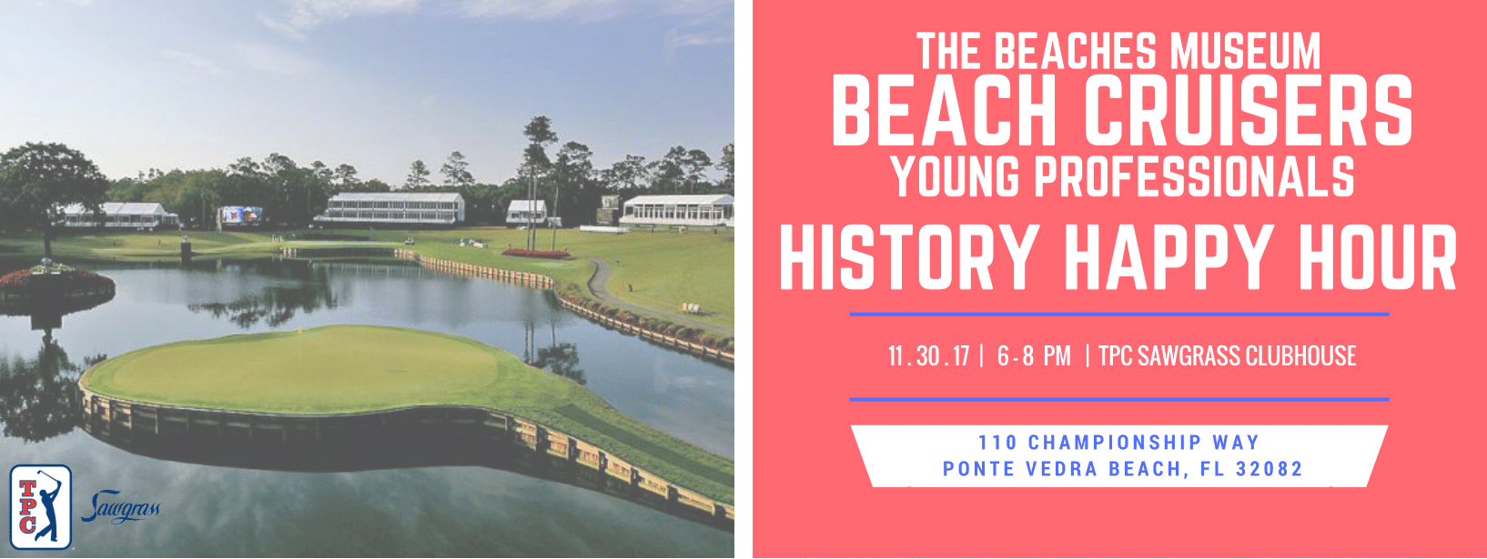 Beach Cruisers History Happy Hour: TPC Sawgrass