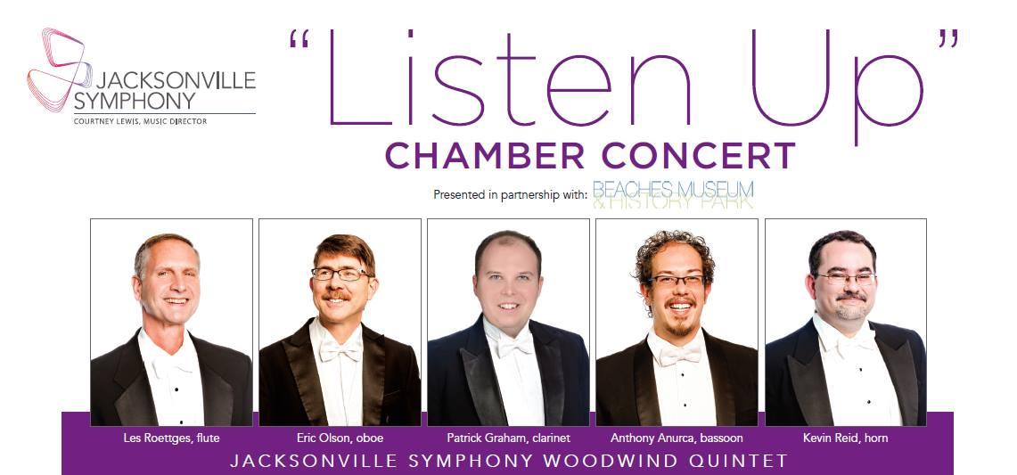 """Jacksonville Symphony  Woodwind Quintet """"Listen Up"""""""