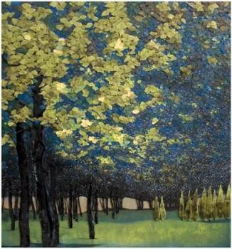Blue Trees In Park Lana Shuttleworth