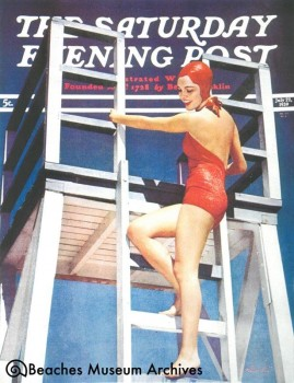 Jean McCormick on the cover of the Saturday Evening Post