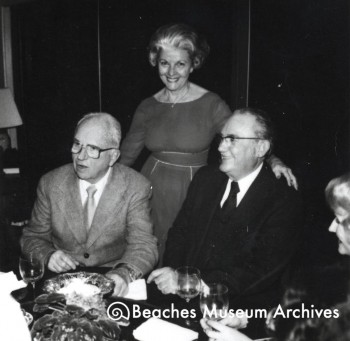 Author James A. Michener, Jean Haden McCormick, J.T. McCormick (1981)