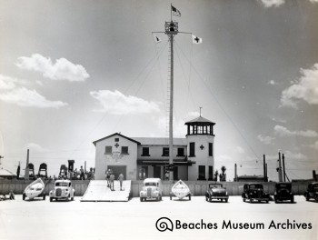 The second building for Station #1, ca. 1940.